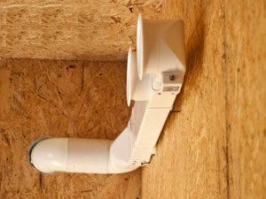 Вентиляция в сип домах своими руками