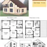 Проект дома до 150 кв.м №1
