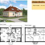 Проект дома до 150 кв.м №7