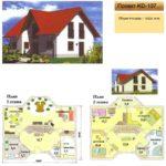 Проект дома до 150 кв.м №8
