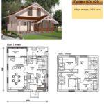 Проект дома до 150 кв.м №2