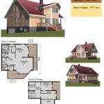 Проект дома до 150 кв.м №4