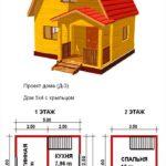 Проект дачного дома №3