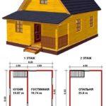 Проект дачного дома №2