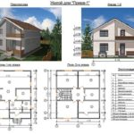Дом из сип панелей двухэтажный