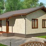 Проект дома до 100 кв.м.