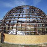 Строительство круглого дома из панелей