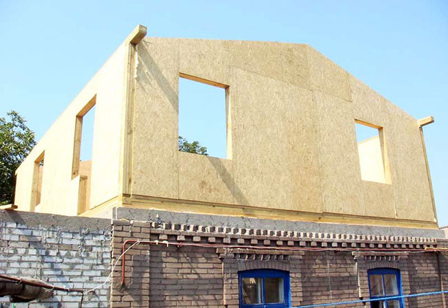 надстроить 2 этаж на щитовой дом очень многим