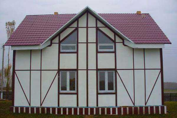 Дом из СМЛ панелей