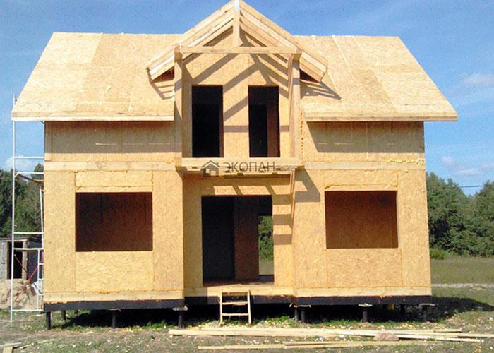 Дом из сип панелей Экопан