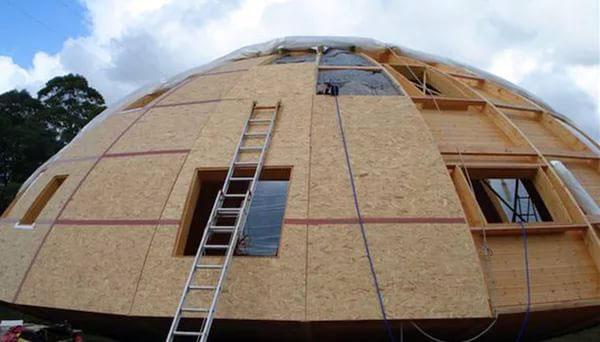 Круглый дом из Сип панелей
