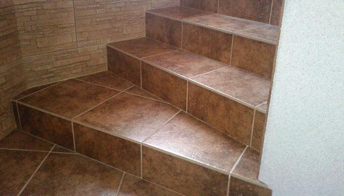 Лестница из панелей