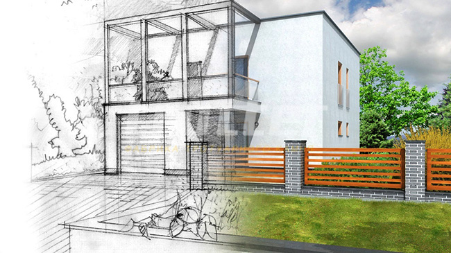 схема-проект дома