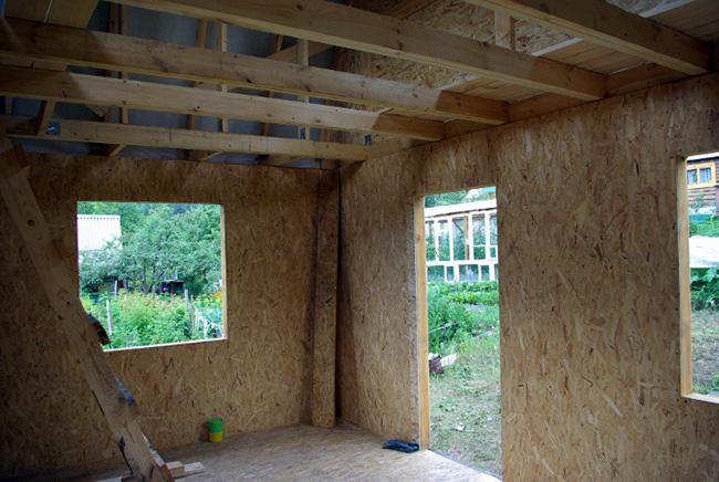 Строительство потолка